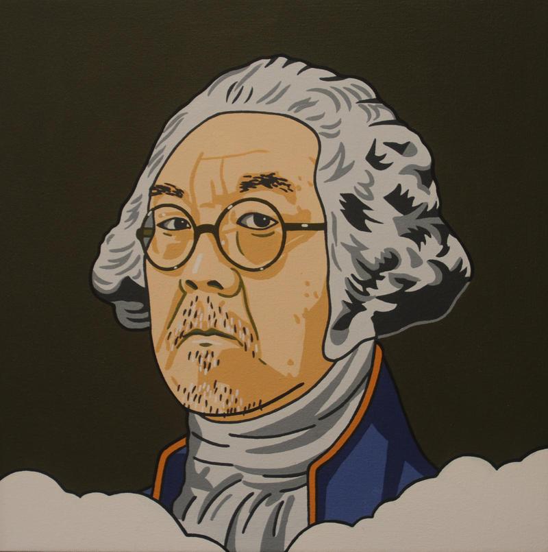 Roger Shimomura's 'General Shimomura'