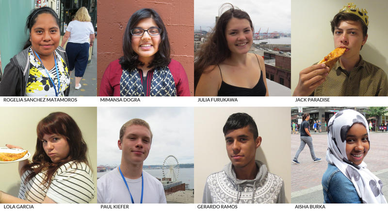 Welcome RadioActive's summer 2015 youth producers!