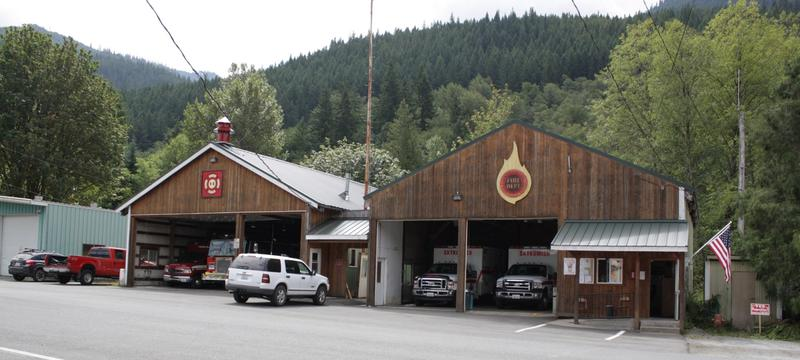 The Skykomish Fire Department is made up of volunteers.