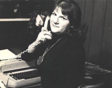 A photo of Ann Rule in 1976 from her official website. Rule was the author, most famously, of The Stranger Beside Me, about her personal relationship with serial killer Ted Bundy before he was caught.