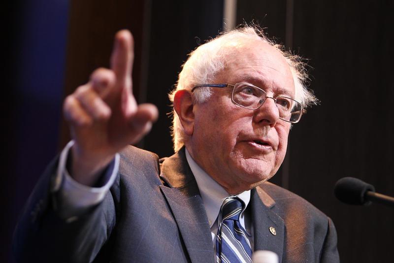 Vermont Senator Bernie Sanders, who is running for president in 2016.