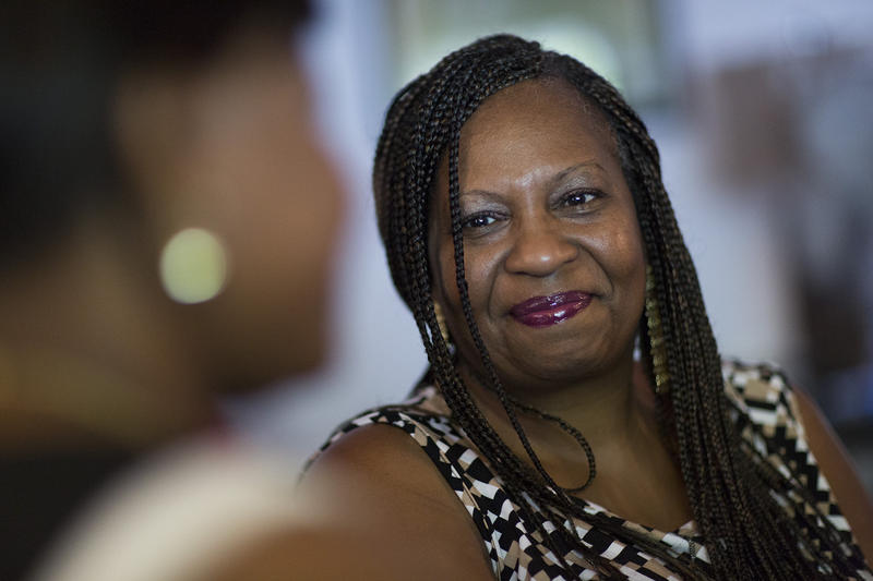 'The fear is real, yes, but that doesn't mean you have to embrace it,' says Bridgette Hempstead, who has worked with Fred Hutchinson Cancer Research Center to reach out to African Americans with cancer.