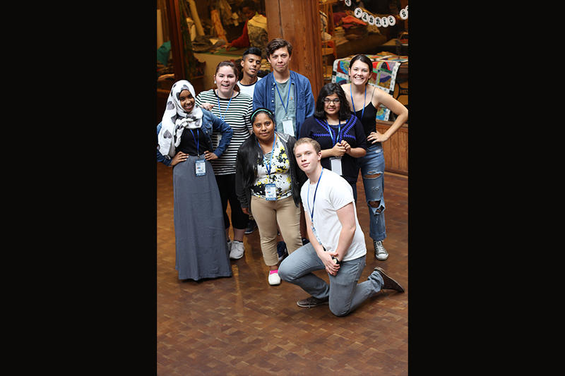 RadioActive's 2015 summer workshop participants at Pike Place Market.