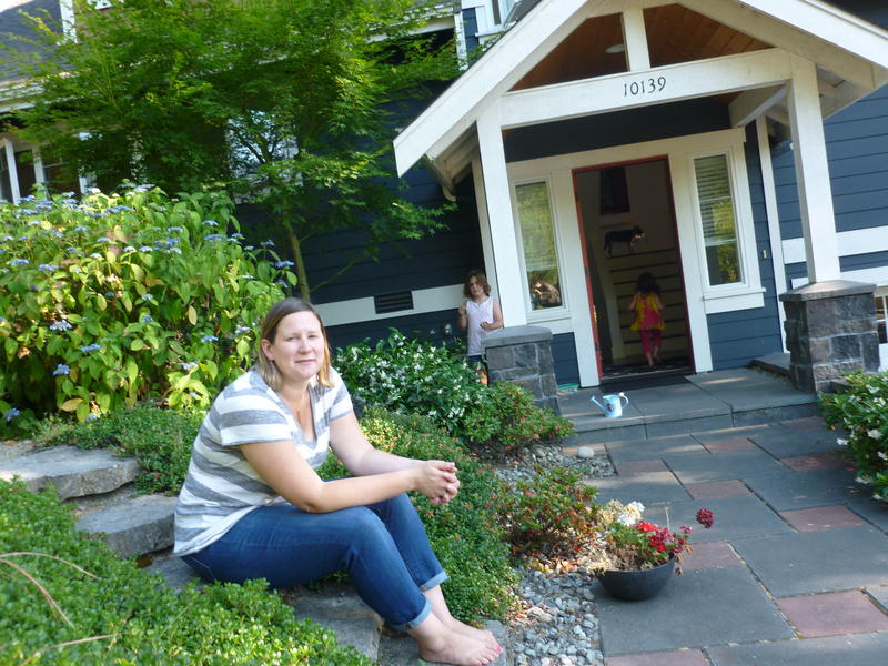 Allison Dunmire, a stay-at-home mom in Kirkland, is having a tough time finding a house to buy -- even one they don't like all that much.