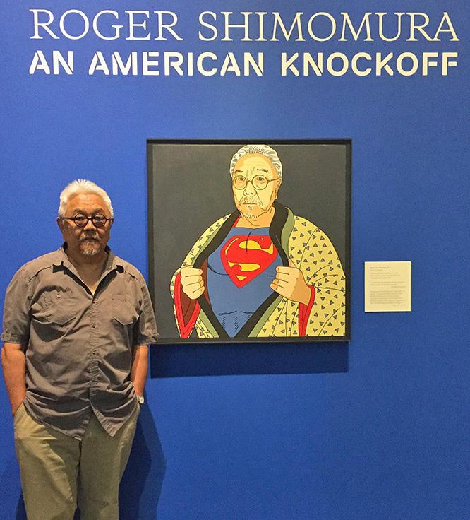 Roger Shimomura at Tacoma Art Museum