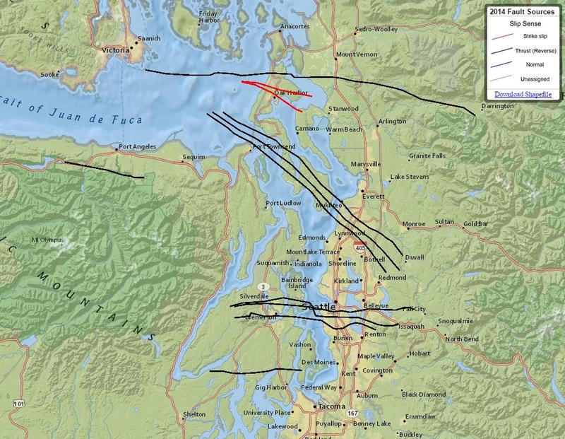 Seattles Faults Maps That Highlight Our Shaky Ground KUOW News