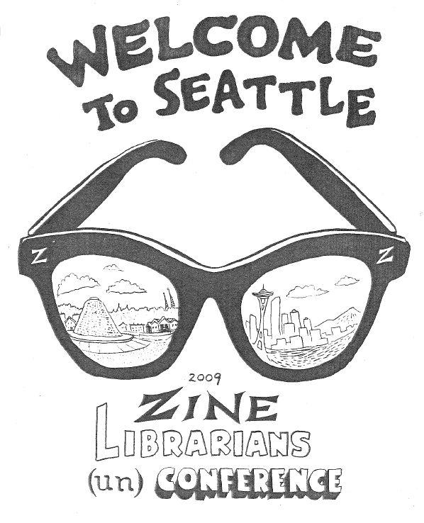 From the 2009 zine librarian (un)conference in 2009.