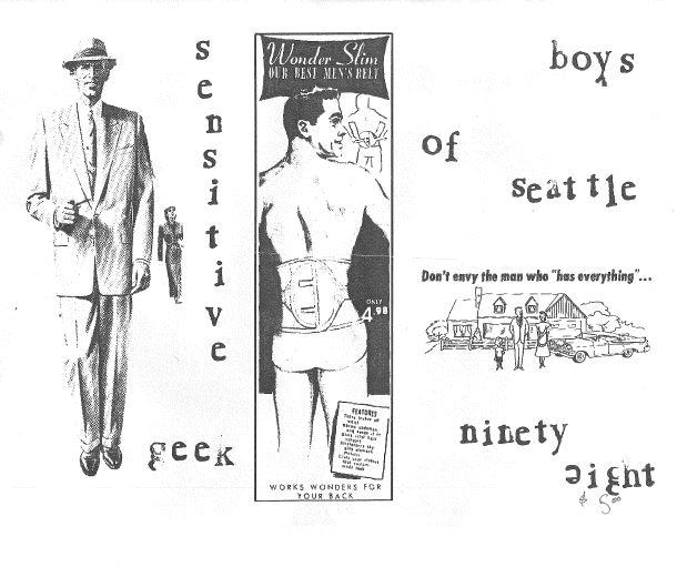 A special Boys of Seattle issue zine.