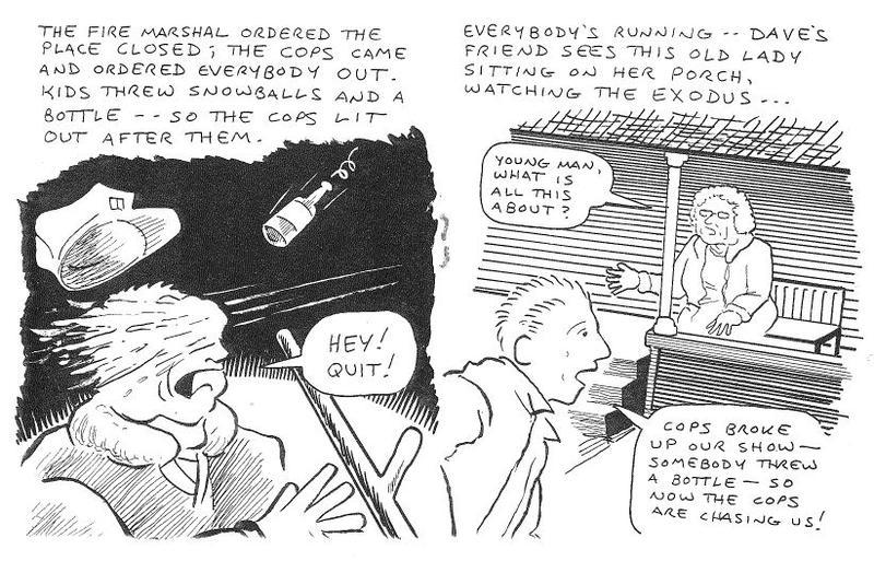 Gorilla Gardens zine, page 2.