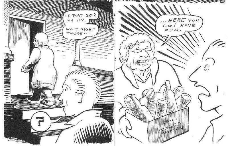 Gorilla Gardens zine, page 3.