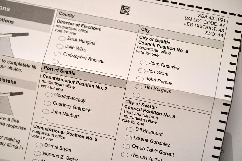 King County primary ballot.