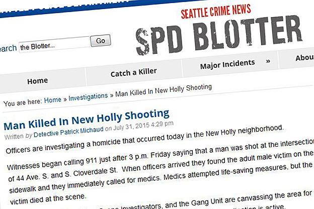 The Seattle Police Department blog post on the killing of Zakariya Issa.
