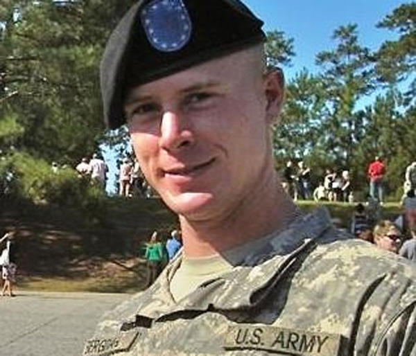File photo of Bowe Bergdahl at his graduation from basic training with the Army.