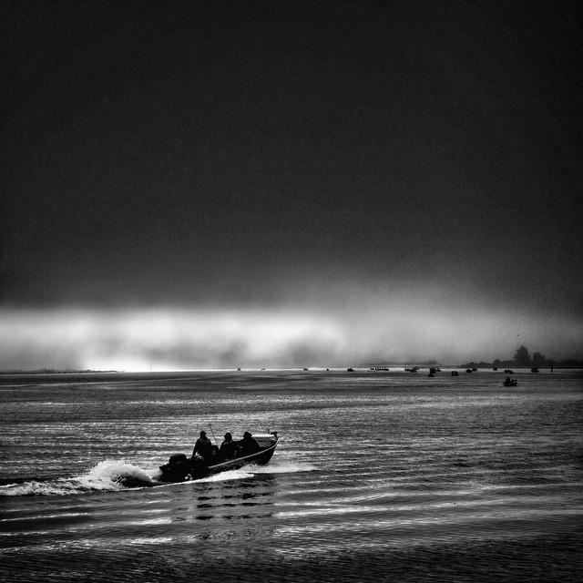 Fisherman in Coos Bay, Oregon where 21 percent of residents live below the poverty level.