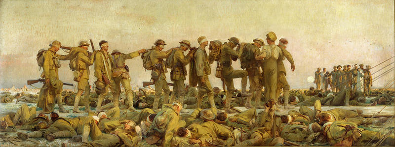 'Gassed' by American painter John Singer Sargent.
