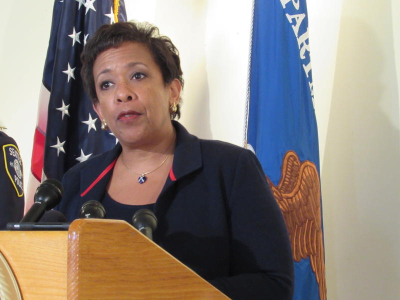 Attorney General Loretta Lynch says Seattle is one of the cities that have turned the corner on policing.