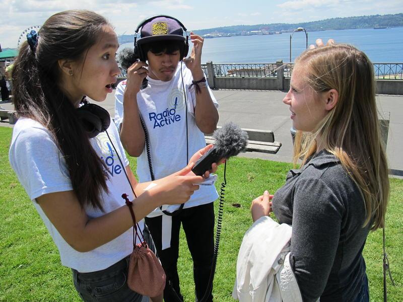 RadioActive reporter Rachel Lam