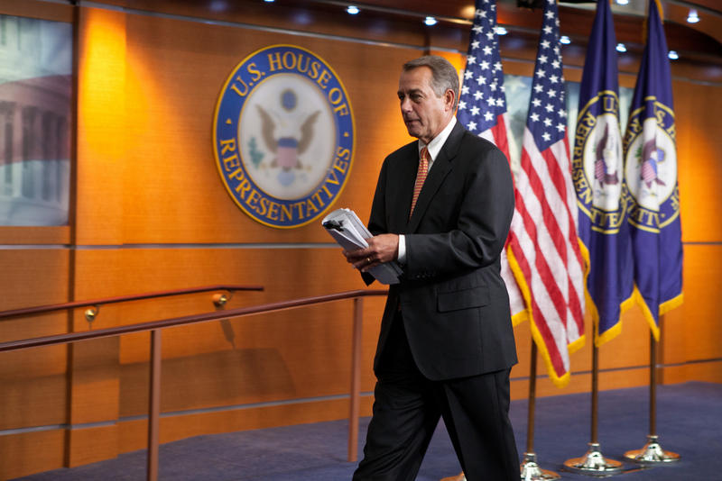John Boehner, pictured here in 2012, announced his resignation from Congress on Sept. 25, 2015.