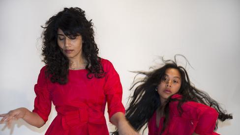 Contemporary dance production 'Pat Graney: Girl Gods.'