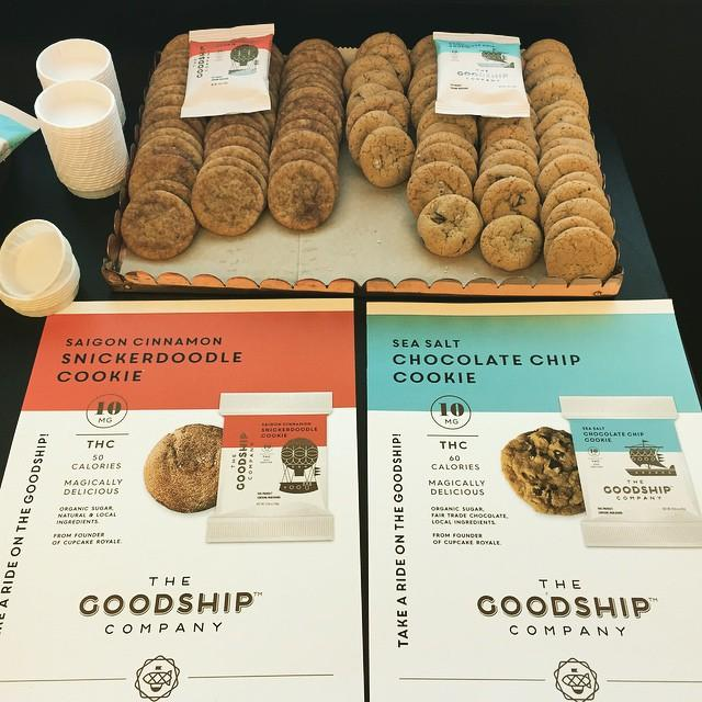 Two cookie varieties produced by Jody Hall's new venture, The Goodship Company.