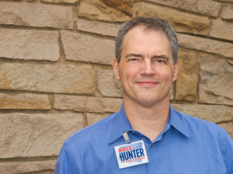 Former Representative Ross Hunter, in a photo from 2009.