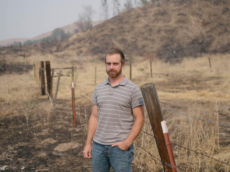 Kent Stokes says hundreds of miles of fenceline will have to be rebuilt after last year's Carlton Complex and this year's Okanogan Complex wildfires. Cattle ranchers depend on good fences and good neighbors to manage thier lands well.