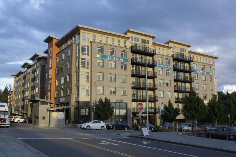 Thornton Place Apartments in Seattle's Northgate neighborhood has 56 apartments (out of 278) set aside for low wage earners. In exchange for keeping rents for those units low for 12 years, the developer got a tax break.