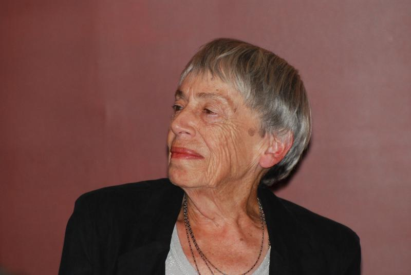 The writer Ursula K. Le Guin in 2012.