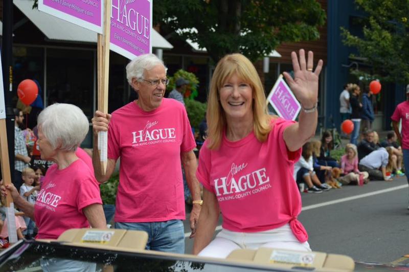 Incumbent King County Council member Jane Hague.