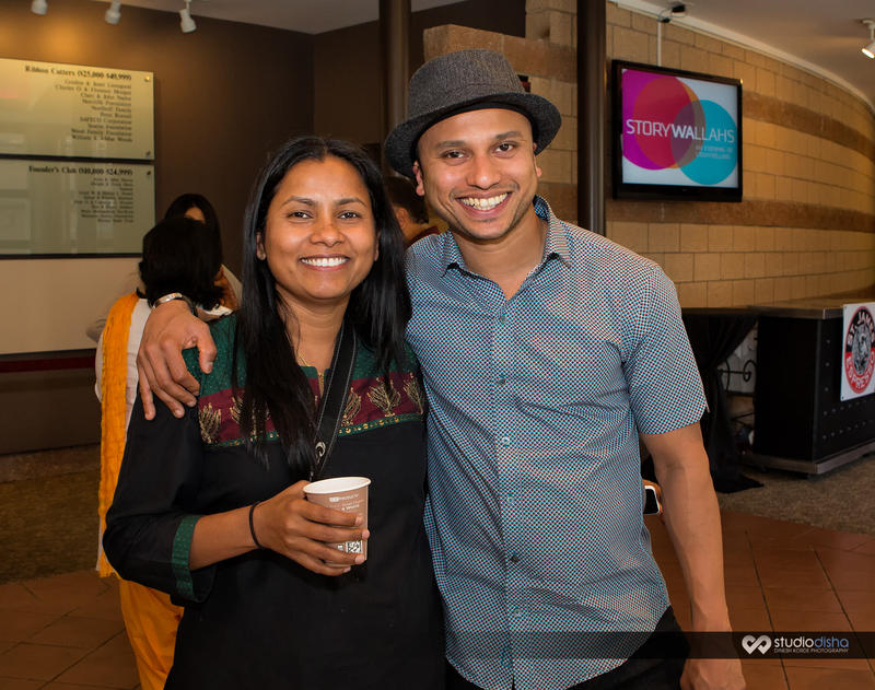 Rita Meher, Executive Director of Tasveer and a guest at Storywallahs