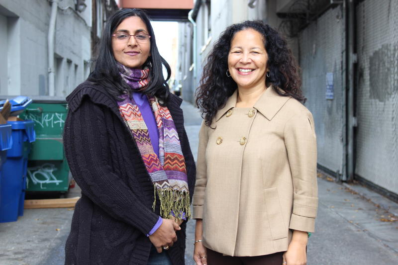 Seattle City Council District 3 candidates Kshama Sawant and Pamela Banks.