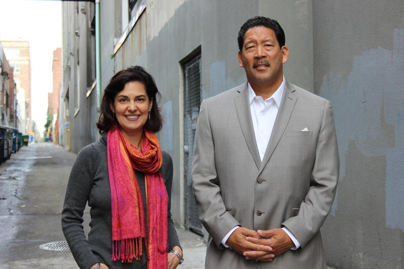 Seattle City Council District 2 candidates Tammy Morales and Bruce Harrell.