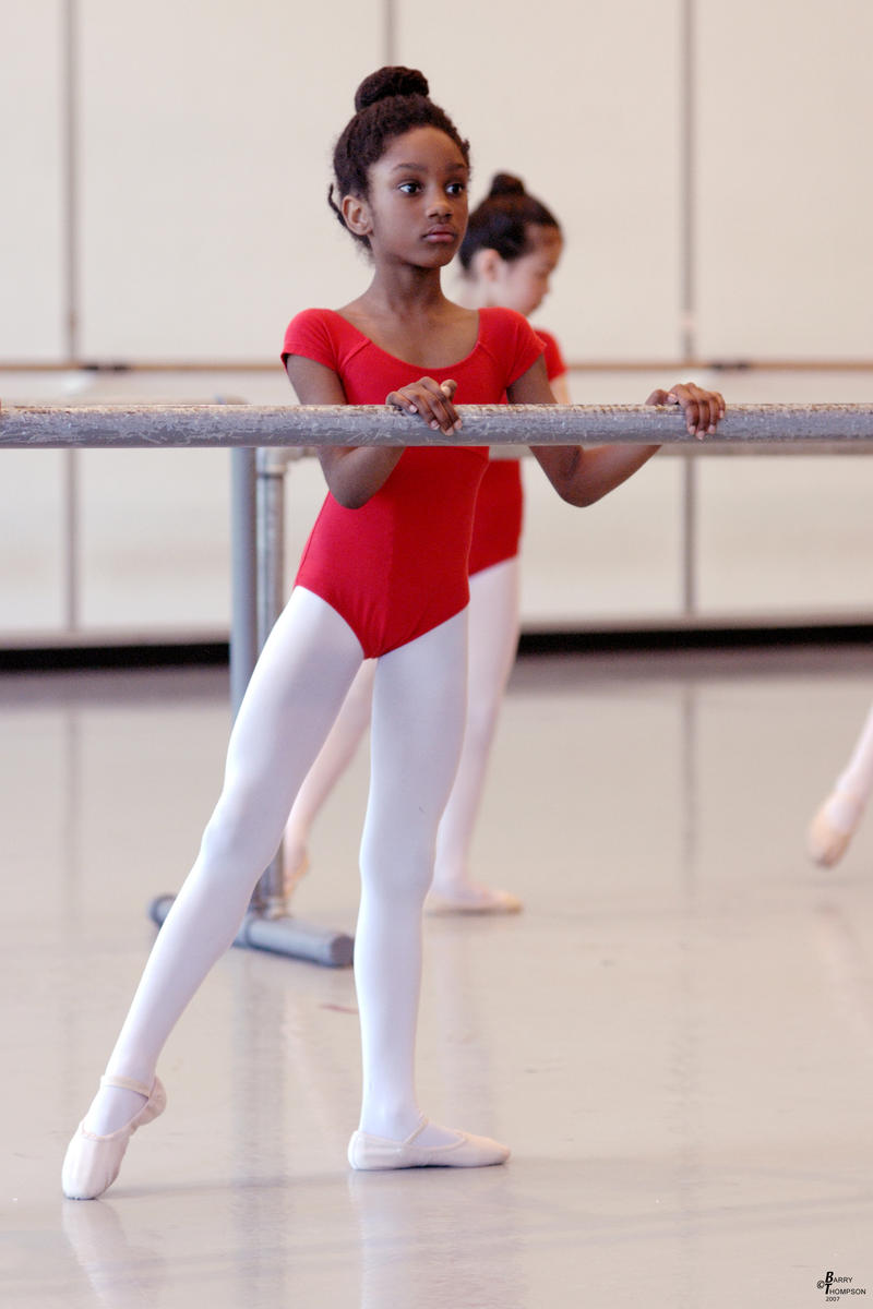 DanceChance student Nazirah Taylor in 2005.