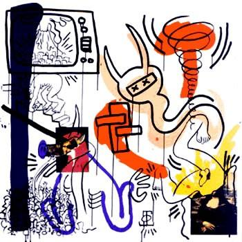 "From the series ""Apocalypse,"" by Keith Haring"