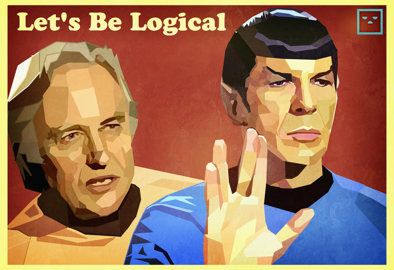 Richard Dawkins illustrated with Dr. Spock.