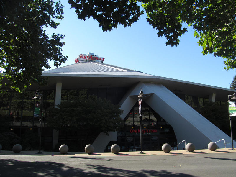 Key Arena in Seattle Center.