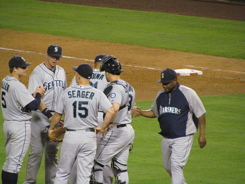 Lloyd McClendon, right, was fired from the Seattle Mariners after two seasons.