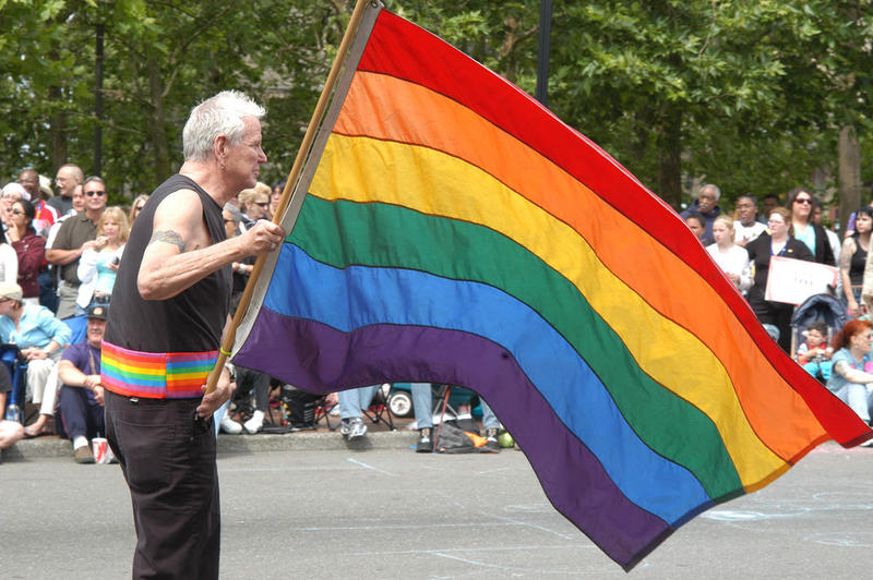 2005 Gay Pride Parade in Seattle.