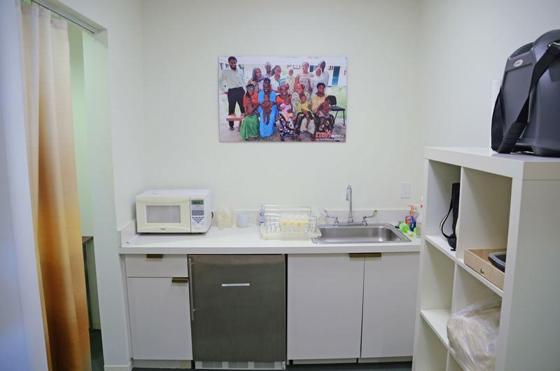 PATH also shared a photo of their nice lactation suite at the Washington, D.C., office.