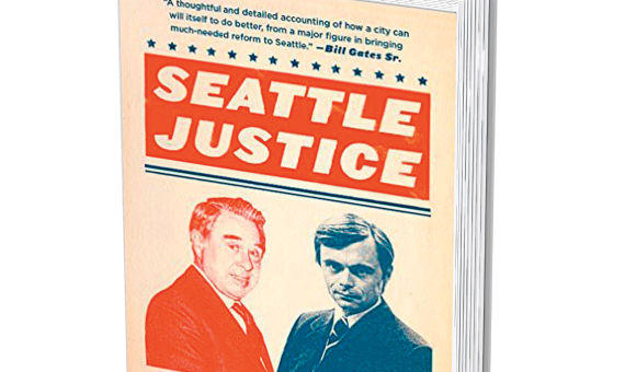 "Christopher Bayley's book, ""Seattle Justice."""