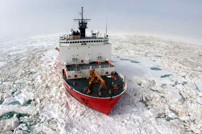 The Coast Guard icebreaker HEALY has returned to Seattle. The summer ice has gotten easier to navigate, which made it possible for the HEALY to travel alone.