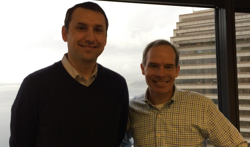 Tim Porter and Matt McIlwain of Madrona Venture Group, a heavy funder of Seattle's cloud startups