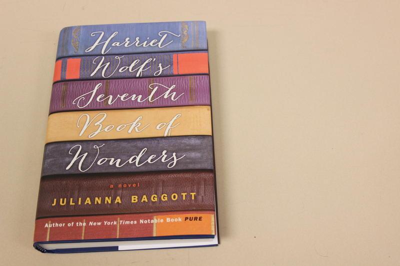 Julianna Baggot's book, 'Hariet Wolf's Seventh Book of Wonders'