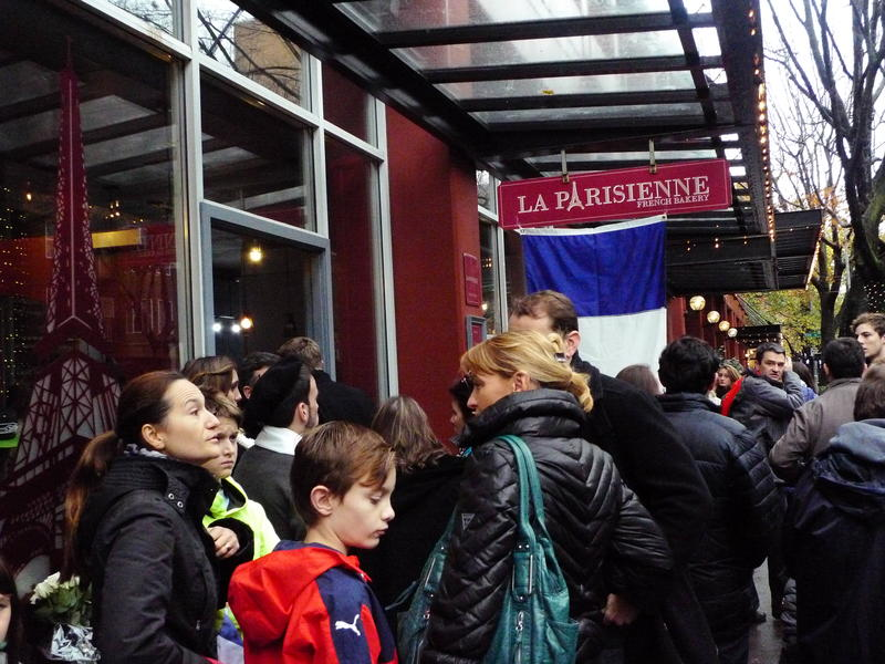 La Parisienne opened its doors to Seattle's French community after the Paris attacks.