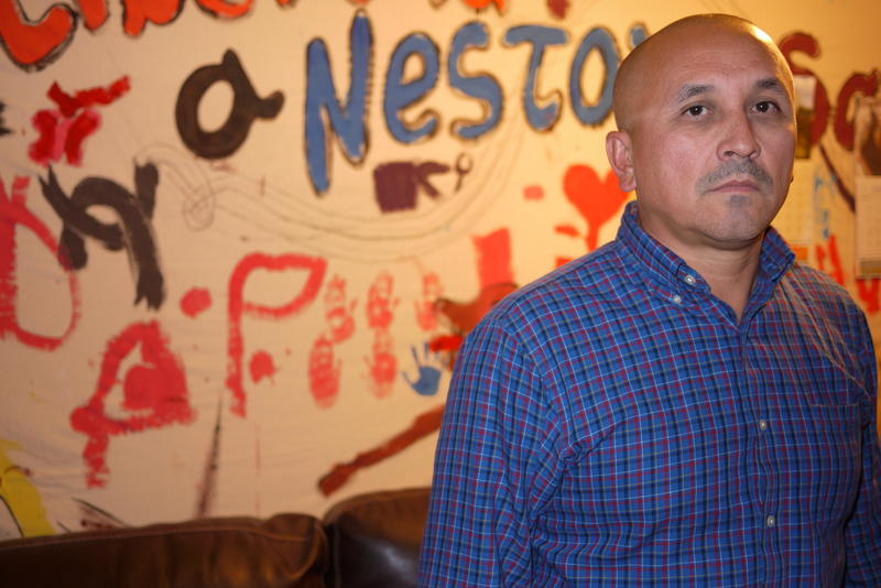 José Luis Avila, of Renton, is fighting for the release of his wife Nestora Salgado from Mexico.