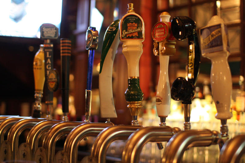 alcohol beer taps