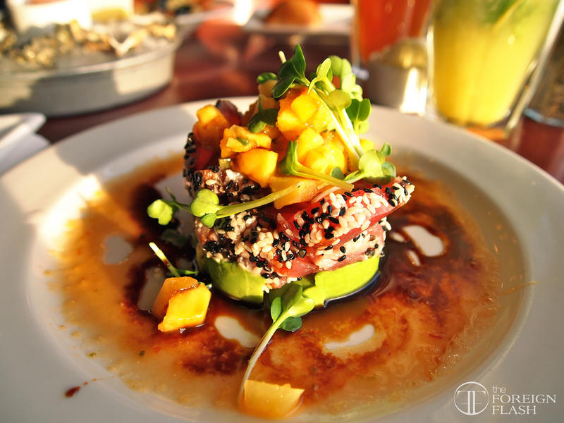 Sesame seared Ahi tuna at Elliot's in Seattle. This was taken in 2011, how has the city's food evolved?