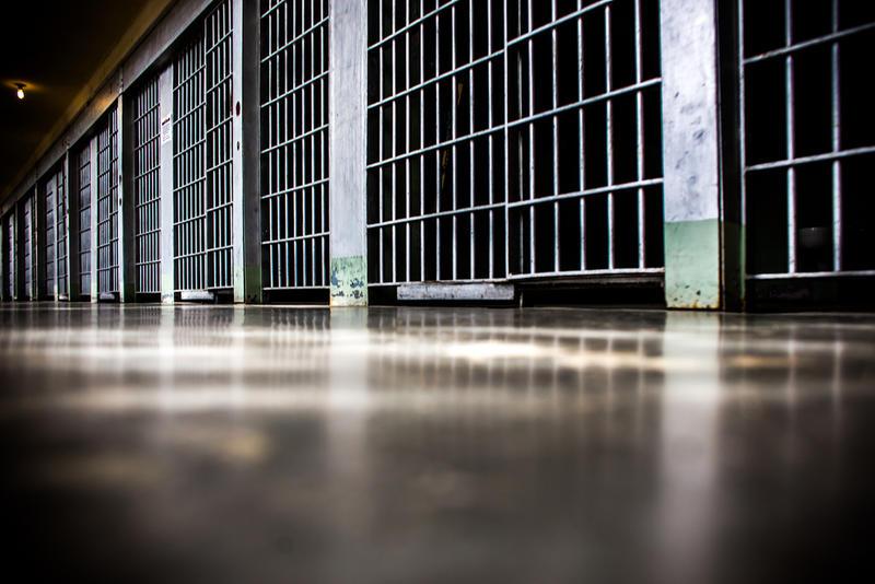 Prison jail bars