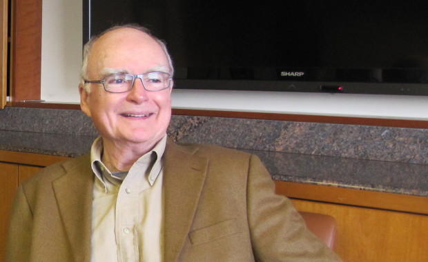 William Ruckelshaus in a 2012 file photo. Ruckelshaus was named a Presidential Medal of Freedom recipient in 2015.