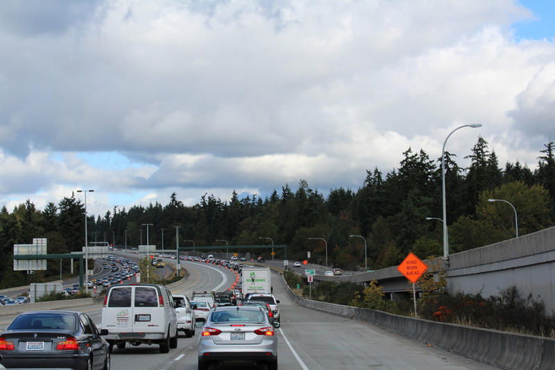 Earlier this fall, I-405 was reduced to two lanes in order to allow crews to complete final striping for the new express toll lanes. After opening, they're still causing consternation for some drivers.